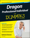 Dragon Professional Individual For Dummies, 5th Edition (1119171075) cover image