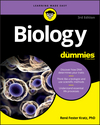 Biology For Dummies, 3rd Edition (1119345375) cover image