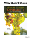 Design and Analysis of Experiments, 9th Edition (EHEP003675) cover image