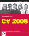 Professional C# 2008  (0470191376) cover image