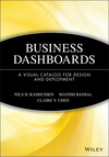 Business Dashboards: A Visual Catalog for Design and Deployment (0470413476) cover image