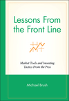 Lessons From the Front Line: Market Tools and Investing Tactics From the Pros (0471350176) cover image