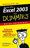 Excel 2003æFor Dummies Quick Reference