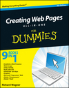 Creating Web Pages All-in-One For Dummies, 4th Edition (1118017676) cover image