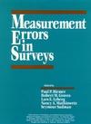 Measurement Errors in Surveys (1118150376) cover image
