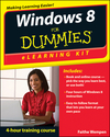 Windows 8 eLearning Kit For Dummies (1118233476) cover image