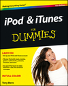 iPod and iTunes For Dummies, 10th Edition (1118555376) cover image