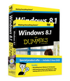 Windows 8.1 For Dummies Book + DVD Bundle (1118821076) cover image