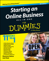 Starting an Online Business All-in-One For Dummies, 4th Edition (1118926676) cover image