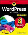 WordPress All-in-One For Dummies, 3rd Edition (1119327776) cover image