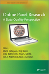 Online Panel Research: A Data Quality Perspective (1119941776) cover image