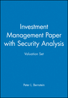 Investment Management Paper with Security Analysis Valuation Set (0471214477) cover image
