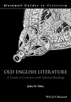 Old English Literature: A Guide to Criticism with Selected Readings (0631220577) cover image