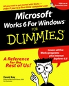 Microsoft Works 6 for Windows For Dummies (0764507877) cover image