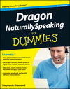 Dragon NaturallySpeaking For Dummies, 2nd Edition (1118159977) cover image