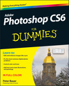 Photoshop CS6 For Dummies (1118174577) cover image
