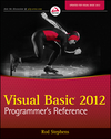 Visual Basic 2012 Programmer's Reference (1118314077) cover image