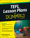 TEFL Lesson Plans For Dummies (1118764277) cover image