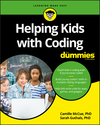 Helping Kids with Coding For Dummies (1119380677) cover image