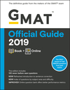 GMAT Official Guide 2019: Book + Online (1119507677) cover image