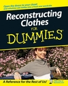 Reconstructing Clothes For Dummies