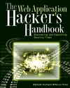 The Web Application Hacker's Handbook: Discovering and Exploiting Security Flaws (0470170778) cover image