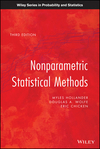 thumbnail image: Nonparametric Statistical Methods, 3rd Edition