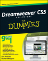 Dreamweaver CS5 All-in-One For Dummies (0470610778) cover image