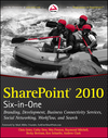 SharePoint 2010 Six-in-One (0470877278) cover image