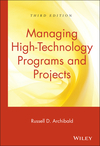 Managing High-Technology Programs and Projects, 3rd Edition (0471265578) cover image