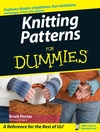Knitting Patterns For Dummies (1118050878) cover image