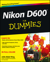 Nikon D600 For Dummies (1118530578) cover image