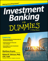 Investment Banking For Dummies (1118615778) cover image