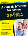 Facebook and Twitter For Seniors For Dummies, 2nd Edition (1118921178) cover image