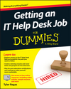 Getting an IT Help Desk Job For Dummies (1119018978) cover image
