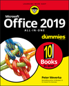 Office 2019 All-in-One For Dummies (1119513278) cover image