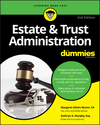Estate & Trust Administration For Dummies, 2nd Edition (1119543878) cover image