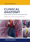 Clinical Anatomy: Applied anatomy for students and junior doctors, 12th Edition