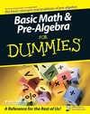Basic Math and Pre-Algebra For Dummies (0470135379) cover image