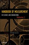 Handbook of Measurement in Science and Engineering, Volume 1 (0470404779) cover image