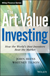 The Art of Value Investing: How the World's Best Investors Beat the Market (0470479779) cover image