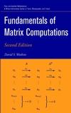 Fundamentals of Matrix Computations, 2nd Edition (0471461679) cover image