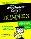 Corel WordPerfect Suite 8 For Dummies  (0764501879) cover image