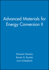 Advanced Materials for Energy Conversion II (1118000579) cover image