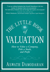 The Little Book of Valuation: How to Value a Company, Pick a Stock and Profit (1118004779) cover image