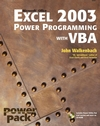 Excel 2003 Power Programming with VBA (1118043979) cover image