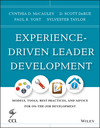 Experience-Driven Leader Development: Models, Tools, Best Practices, and Advice for On-the-Job Development (1118458079) cover image