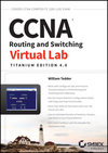 CCNA Routing and Switching Virtual Lab, Titanium Edition 4.0 (1118789679) cover image