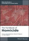 The Handbookof Homicide (1118924479) cover image