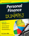 Personal Finance For Dummies, 8th Edition (1119114179) cover image
